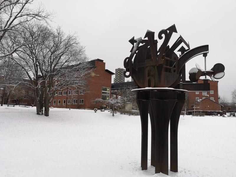 Image taken of KI Solna Campus