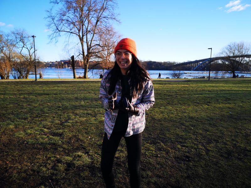 Me standing around at Rålis