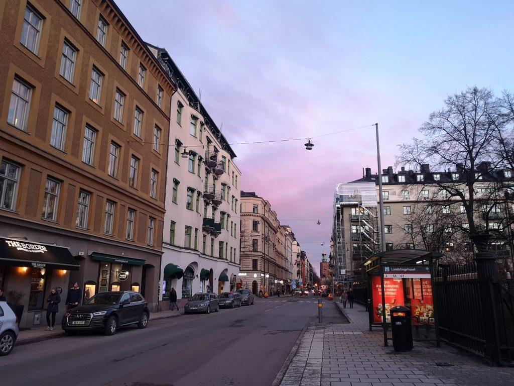 A street in Kungsholmen