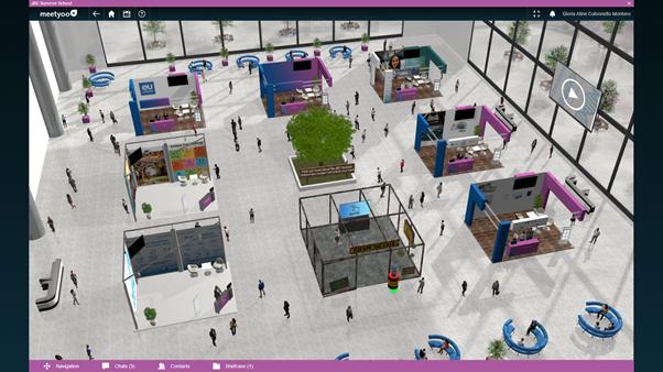 Exhibition Hall at the JRC digital platform